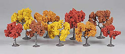 NEW Woodland Scenics Assembled Tree Fall Mix 3  TR1540