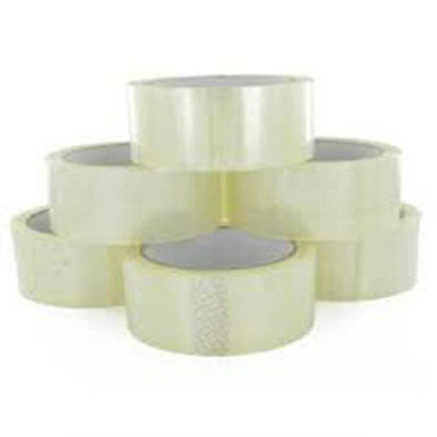 36 Rolls Clear Parcel Packing Tape