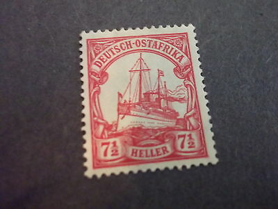 GERMANY COLONIES GERMAN EAST AFRICA WITH WTMK MINT 33 SHIP