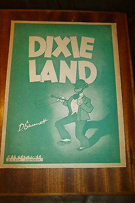 Dixie Land - D.Emett - Dutch issue