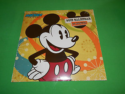 New 2015 Wall Calendar School Monthly Page Planner Agenda Disney Mickey Mouse