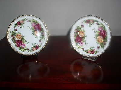 SET OF 2 OLD COUNTRY ROSES PIN DISHES