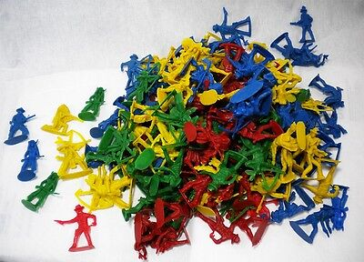 360 pcs Cowboy and Indian Figures 4 Different Colors Many Poses