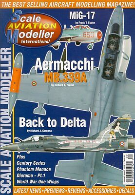 Scale Aviation Modeller V6 N7 Convair F-106 Delta Dart Usaf / Mirage 2000 France
