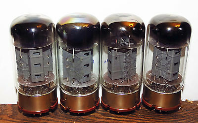 "Unused matched quad Svetlana SED ""Winged C"" 6550 tubes - St. Petersburg"
