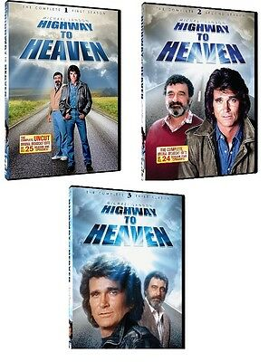 HIGHWAY TO HEAVEN SEASONS 1 2 3 ONE TWO THREE FIRST SECOND THIRD - NEW!!