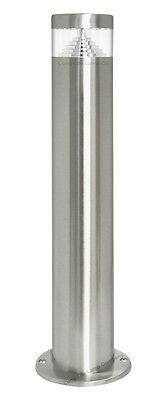 Modern LED Bollard Garden Lamp Post Stainless Steel Outdoor Cool White Light