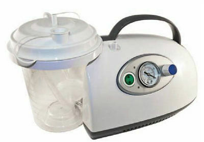 Roscoe Medical Lightweight Portable Suction Machine Aspirator 50004 NEW
