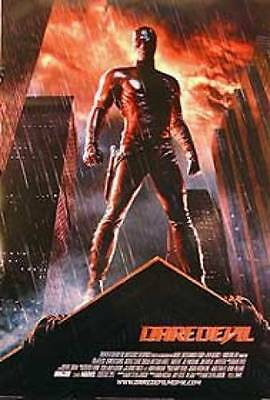 Daredevil Original Movie Poster 27X40 Ben Affleck, Double-Sided International St