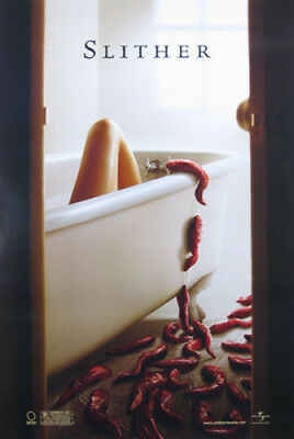 Slither Original Movie Poster 27X40 Nathan Fillion, Single-Sided Advance 27x40