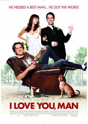 I Love You, Man Paul Rudd Jason Segal Movie Poster, Double-Sided Regular 27x40