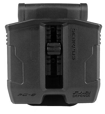 PG-9 FAB Magazine Pouch Glock 9MM 17 19 22 23 25 26 27 31 32 33 34 35 37 38 39