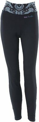 Divas Womens Diva-Tech Lace Collection Base Layer Pants