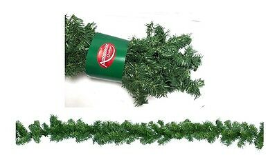 Plain Artificial Christmas Canadian Pine Garland Decoration With 180 Tips 270cm