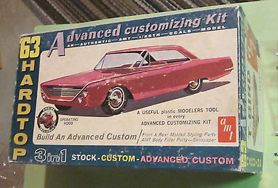 AMT 1963 Ford Thunderbird Hardtop 3-in-1 Annual Customizing Kit Unbuilt 643