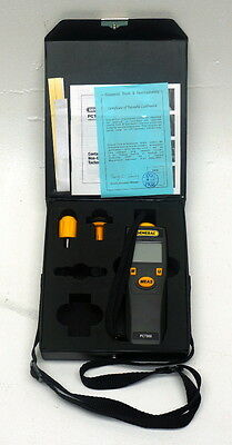 General PCT900 Contact/Non-Contact Tachometer 3 Tips Storage Case and Manual