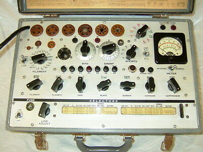 Hickok TV-3  TV-3/U Excellent Condition Rare Vacuum Tube Tester