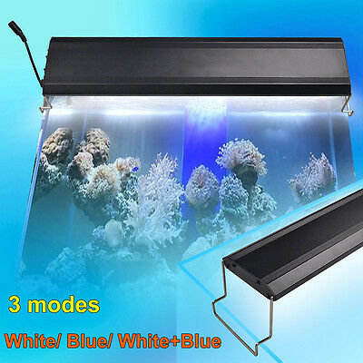 Aquarium Fish Tank Over Head LED SMD Lamp Light Lighting White/ Blue/ RGB Color