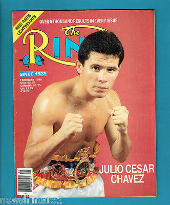 #aa. The Ring Boxing Magazine, February 1989