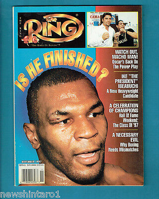 #aa. The Ring Boxing Magazine, November 1997