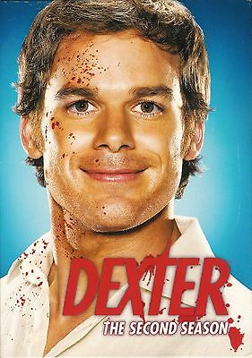 Dexter ~ The Complete Second 2nd Season ~ 4-Disc DVD Box Set