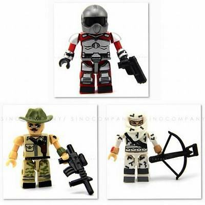Iron Grenadier w//sword Cobra KRE-O MiniFigure GI Joe Kreo Kreon