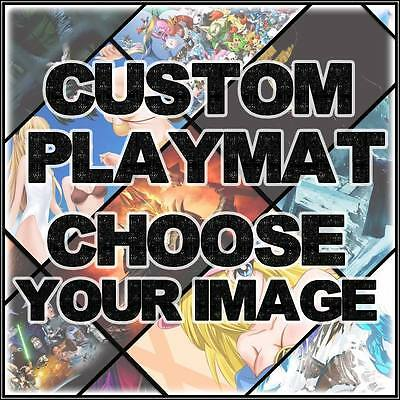 Custom TCG Playmat • CHOSE YOUR IMAGE! WE WILL PRINT IT! Playmats Mat Blank