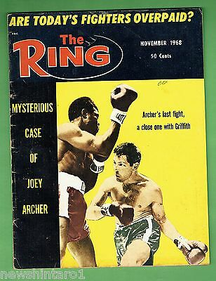 #cc.   The Ring Boxing Magazine, November 1968