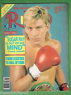 #cc.  The Ring Boxing Magazine, November 1988