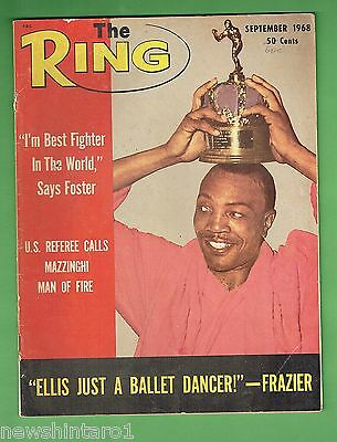 #cc.  The Ring Boxing Magazine, September 1968
