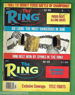 #dd.   The Ring Boxing Magazine, July 1978