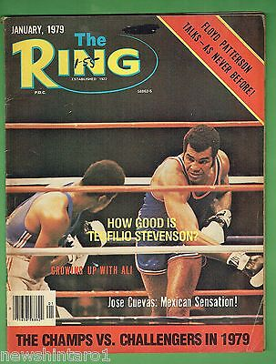 #dd.  The Ring Boxing Magazine, January 1979
