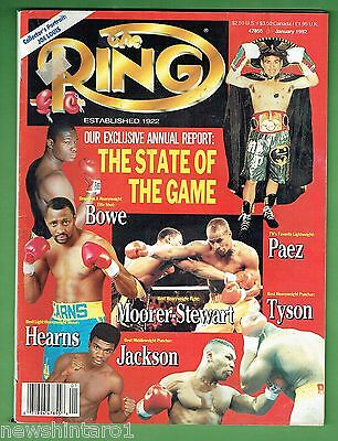#dd.  The Ring Boxing Magazine, January 1992