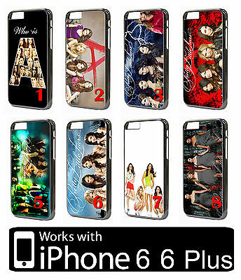 Pretty Little Liars iPhone 6 7 8 Plus X XS PLASTIC Case Phone Hit TV Serie Girls