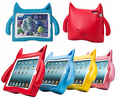 3D Monster Kids Protective Stand Case For Apple iPad 2 3 4 iPad Mini / Air 1 2 3