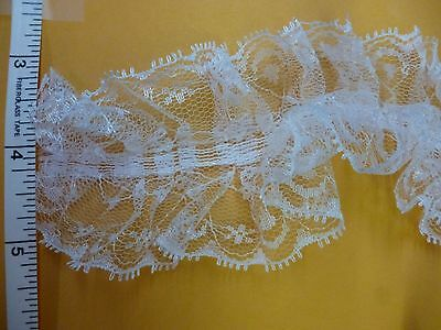 Raschel Organza Satin Ribbon Lace Trim Lace Trimming Sew on craft trimming 1yd