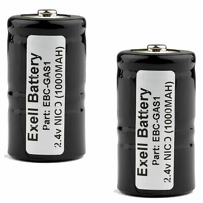 2pk 2.4V Gas Meter Battery for TIF8800, TIF8800A, TIF8806A, TIF8850 USA SHIP