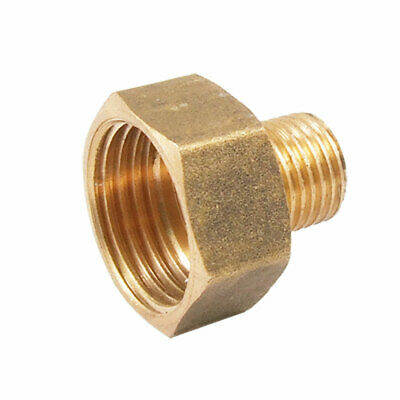 Pipe Fitting 13mm Male to 19mm Female Brass Hex Bushing Connector