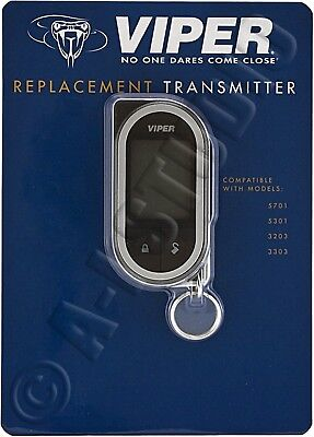 Viper 7351V Car Alarm Replacement 2-Way Responder Remote Transmitter 5701 5301