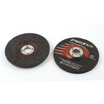 2 Pcs 15200RPM 100mm x 6mm x 16mm Abrasives Polishing Grinding Pad Wheel