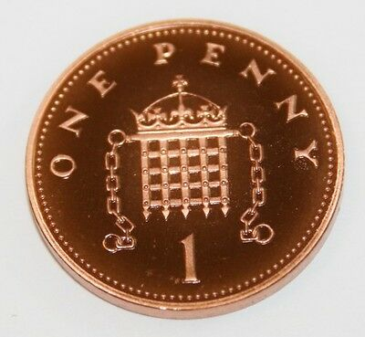 1982-2020 1p Proof Coin ~ One Pence Penny MINT