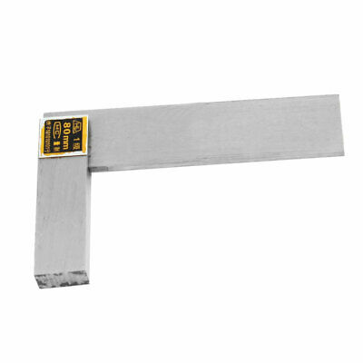 80mm x 50mm Non-Marked Scale Angle Ruler Beveled Edge Square for Carpenter