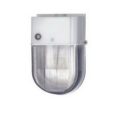 White High Pressure Sodium 50 Watt Exterior Security Light