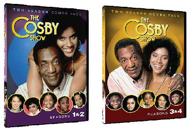 THE COSBY SHOW SEASONS  1 2 3 4 ONE TWO THREE FOUR - NEW!!