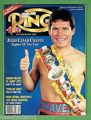 #ee.  The Ring Boxing Magazine, April 1991