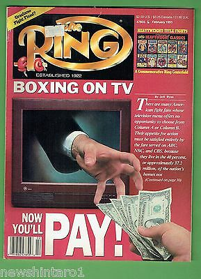 #ee.  The Ring Boxing Magazine, February 1991