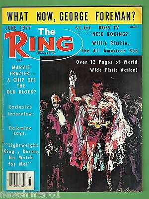 #ee.  The Ring Boxing Magazine, June 1977