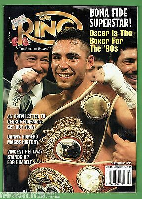 #ee.  The Ring Boxing Magazine, September  1995