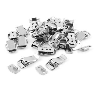 20 Set Hardware Metal Spring Loaded Box Cases Closet Toggle Latch Hasp