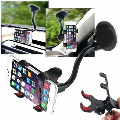 360°Rotating Car Windshield Mount Holder Stand Bracket for iPhone Samsung GPS